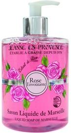 Jeanne en Provence Rose Envoutante 500ml Liquid Soap