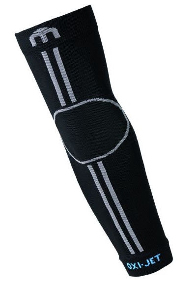 Mico Oxi Jet Arm Warmers Black