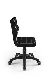 Bērnu krēsls Entelo Petit VS01, melna, 300 mm x 775 mm