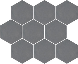 Kerama Marazzi Turenne Tiles SG1002N 120x104mm Grey