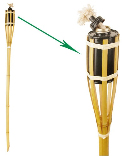 Hortus Bamboo Torch 90cm