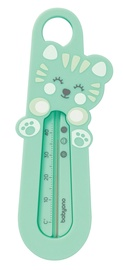 BabyOno Cat Bath Thermometer Green