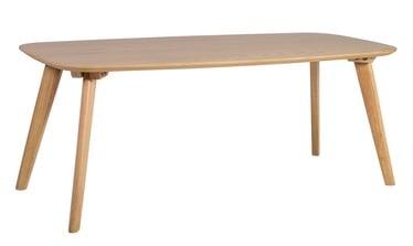 Kafijas galdiņš Home4you Dahila 20998 Oak, 1100x500x425 mm
