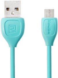 Remax Lesu Micro USB To USB Data Charger Cable 1m Blue