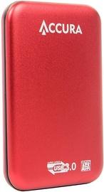 Accura Premium ACC4128 HDD Enclosure Red
