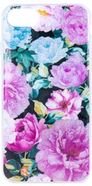 Mocco Spring Back Case For Samsung Galaxy J6 Plus Pink Peonies