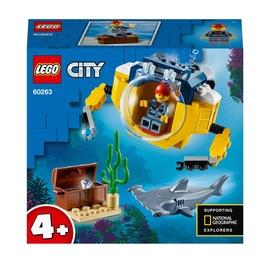 Конструктор LEGO® City 60263 Океан: мини-подлодка