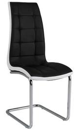 Ēdamistabas krēsls Signal Meble H103 White Black, 1 gab.
