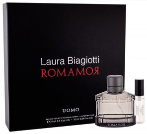 Laura Biagiotti Romamor Uomo 75ml EDT + 10ml EDT