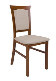 Ēdamistabas krēsls Black Red White Kent Small 2, smilškrāsas