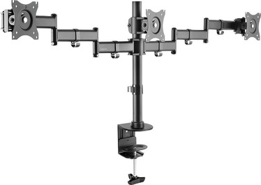 LogiLink Triple Monitor Desk Mount 13 - 27""