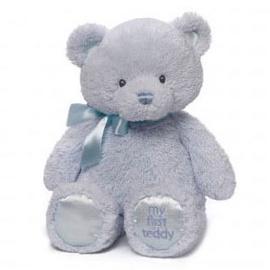Gund Baby My 1st Teddy Plush Toy Blue 25cm