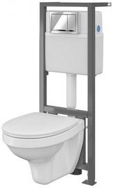Cersanit Aqua WC System With Soft Close Lid S701-216 White