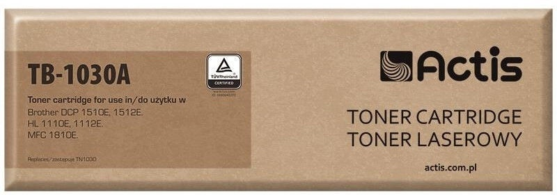 Actis TB-1030A replacement for Brother TN-1030 Black