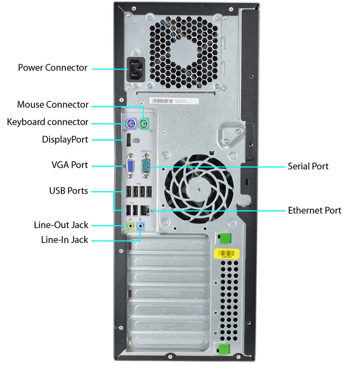HP Compaq 8100 Elite MT RM6700W7 Renew