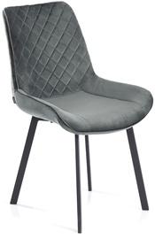 Ēdamistabas krēsls Homede Kemble Charcoal, 4 gab.