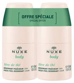 Дезодорант для женщин Nuxe Reve de The, 100 мл, 2 шт.