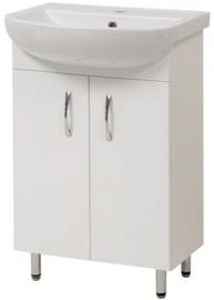 Vannas istabas skapītis Sanservis Arteco-50 460x840x280mm White