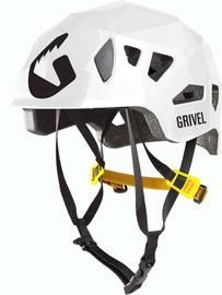 Alpīnistu ķivere Grivel Helmet Stealth HS White 55-61cm