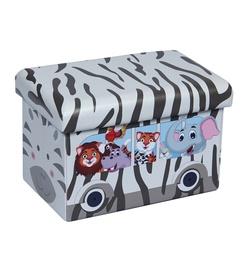 Pufs XYZ160117BE Zebra, 48 x 32 x 31.5 cm