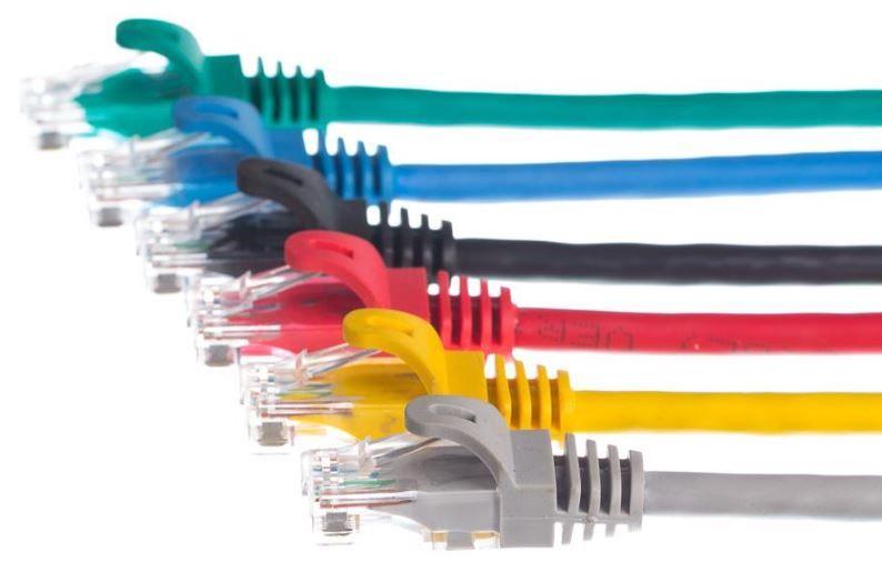 Netrack CAT 5e UTP Patch Cable Black 2m