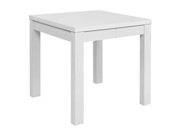 Обеденный стол Black Red White Baklawa White, 800x800x780 мм