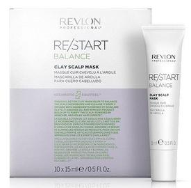 Matu maska Revlon Re/Start Balance Clay Scalp Mask, 10x15 ml