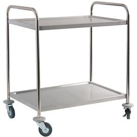 Сервировочный стол Stalgast Serving Trolley 2 Shelves