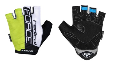 Force Radical Short Gloves Yellow/White/Black S