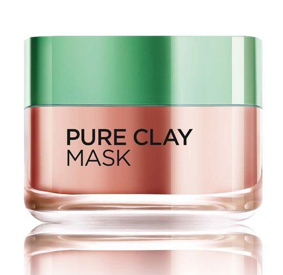 Sejas maska L´Oreal Paris Pure Clay Glow Face Mask, 50 ml