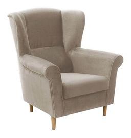 Atzveltnes krēsls Idzczak Meble Loft 1 Beige, 88x80x105 cm