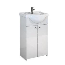 Izlietne ar skapīti vannas istabai Go-On 166043 81,5x47,5cm 12,3kg, balts