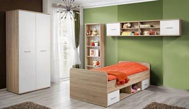 Комплект мебели для детской комнаты ASM Dino I, белый/дубовый