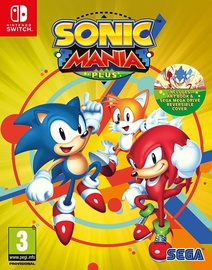 Sonic Mania Plus incl. Artbook SWITCH