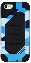 Mocco Defender Army Back Case For Samsung Galaxy A3 A320 Blue