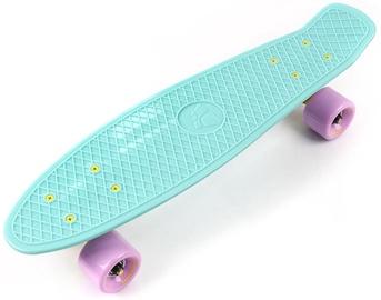 Skrituļdēlis Meteor Plastic Skateboard Mint/Pink 23694