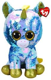 TY Beanie Boos Flippables Sequin Pixie Unicorn 40cm