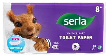 Serla Thick & Soft Toilet Paper 8pcs White