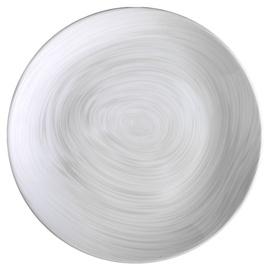 Šķīvis Kütahya Porselen Nano NNEO25DU881235, balta/pelēka