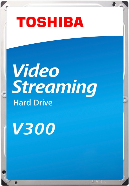 "Toshiba V300 Video Streaming HDD 1TB 5700RPM SATAIII 64MB 3.5"" HDWU110UZSVA"