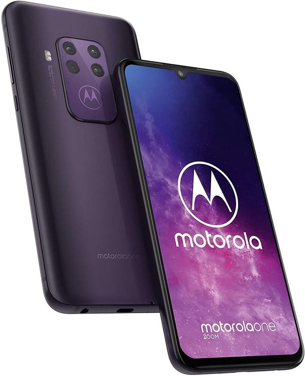 Motorola One Zoom Dual Cosmo Purple