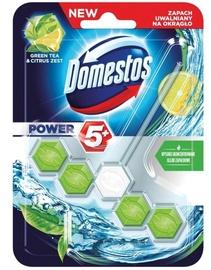 Подвесной блок для унитаза Domestos Green Tea Citrus Toilet Block 55g