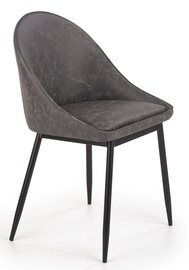 Halmar Chair K406 Dark Grey