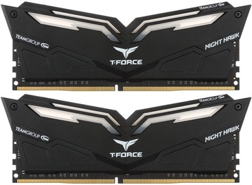 Team Group T-Force Nighthawk White LED 16GB 3200MHz CL16 DDR4 KIT OF 2 THWD416G3200HC16CDC01
