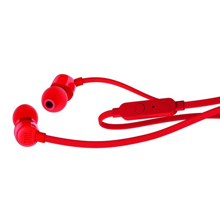 Austiņas JBL T110 Red