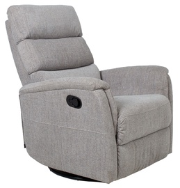 Atzveltnes krēsls Home4you Barclay 13842, pelēka, 79 cm x 86 cm x 105 cm