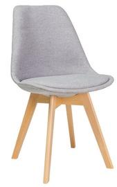 Ēdamistabas krēsls Signal Meble Dior Buk Light Gray, 1 gab.