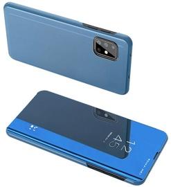 Hurtel Clear View Case For Samsung Galaxy A71 5G Blue