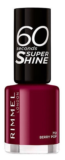 Rimmel London 60 Seconds Super Shine 8ml Nail Polish 712