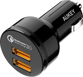 Aukey CC-T8 2 USB 3A 36W Black